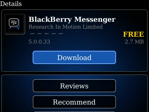 Blackberry messenger version 7. 0. 0. 108 now available in the beta zone.